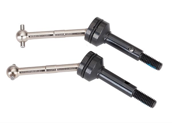 Traxxas Driveshafts, steel constant-velocity (assembled), rear (