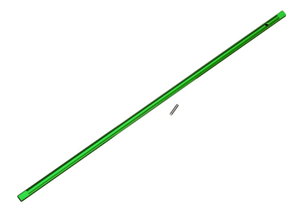 Traxxas Driveshaft, Center, Aluminum (Green)