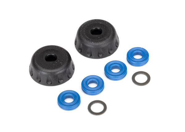 Double seal kit, GTR shocks (x-rings (4)/ 4x6x0.5mm PTFE-coated