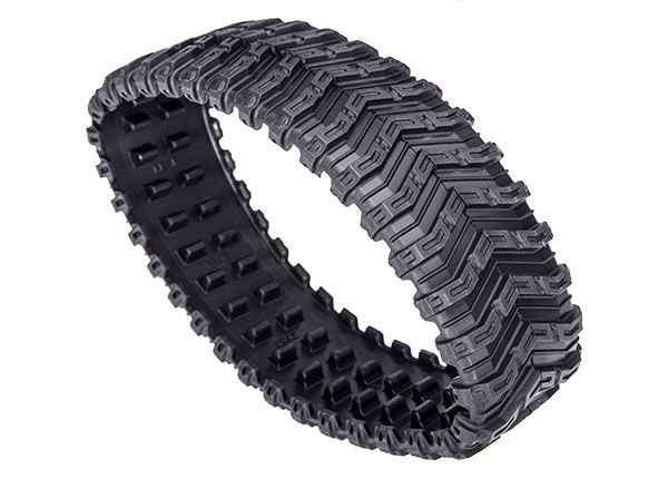 Traxxas Rubber track, All-Terrain, rear (left or right) (rubber)