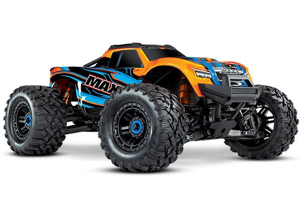 Traxxas Maxx with 4S ESC - Orange 1/10 Scale 4WD Brushless Elect