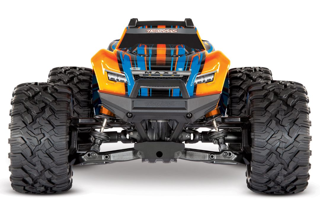 Traxxas Maxx with 4S ESC - Orange 1/10 Scale 4WD Brushless Elect