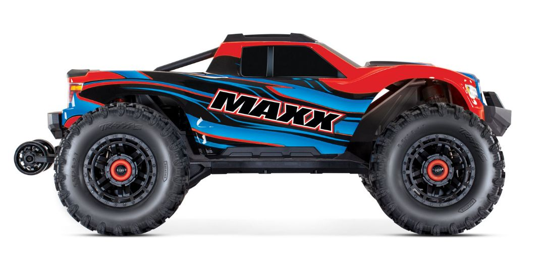 Traxxas Maxx with 4S ESC - RedX 1/10 Scale 4WD Brushless Electri - Click Image to Close
