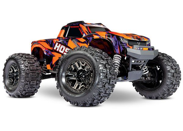 Traxxas Hoss with 4S ESC Orange/Purple 1/10 Scale 4WD Brushless