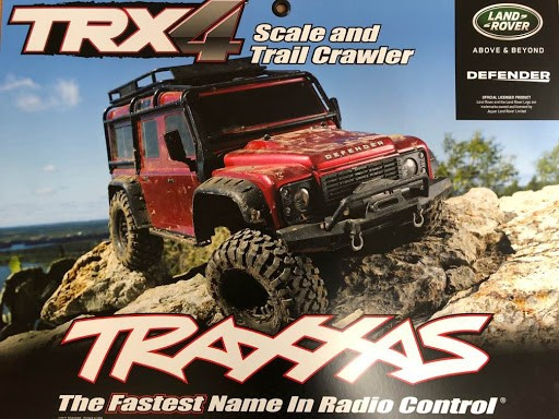 Traxxas Hanging Poster