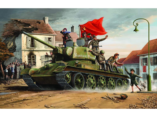 Trumpeter 1/16 T-34/76 Model 1943