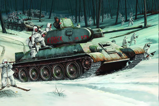 Trumpeter 1/16 T-34/76 Model 1942