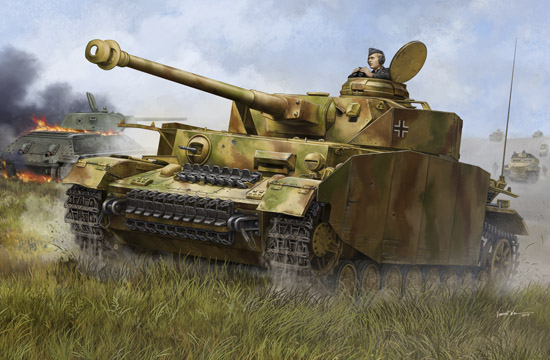 Trumpeter 1/16 German Pzkpfw IV Ausf.H Medium Tank