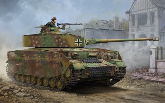 Trumpeter 1/16 German Pzkpfw IV Ausf.J Medium Tank