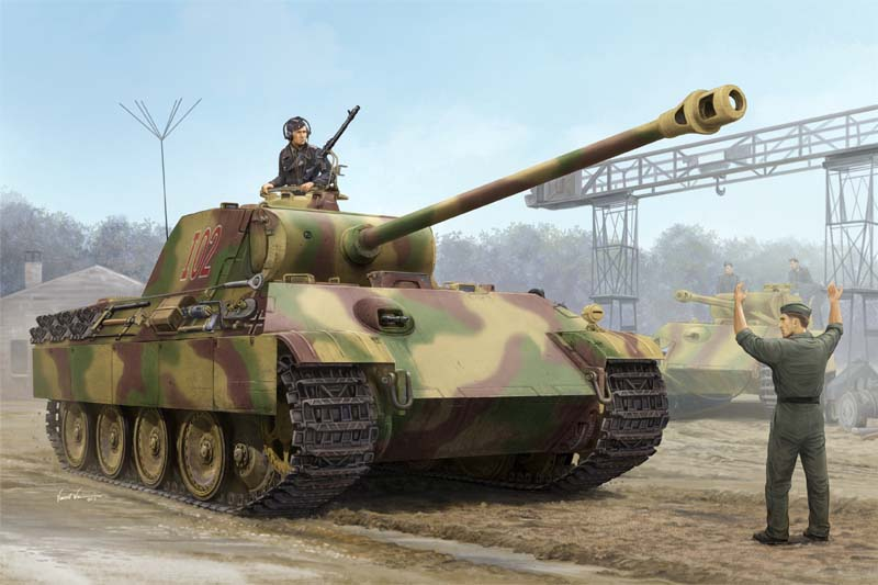 Trumpeter 1/16 German Panther G