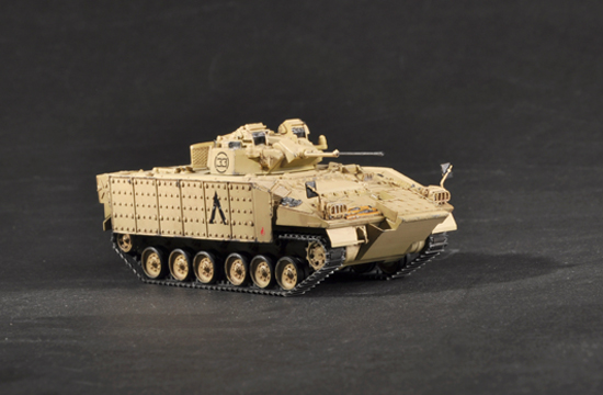Trumpeter 1/72 British Warrior Tracked Mechanized Combat Vehicle