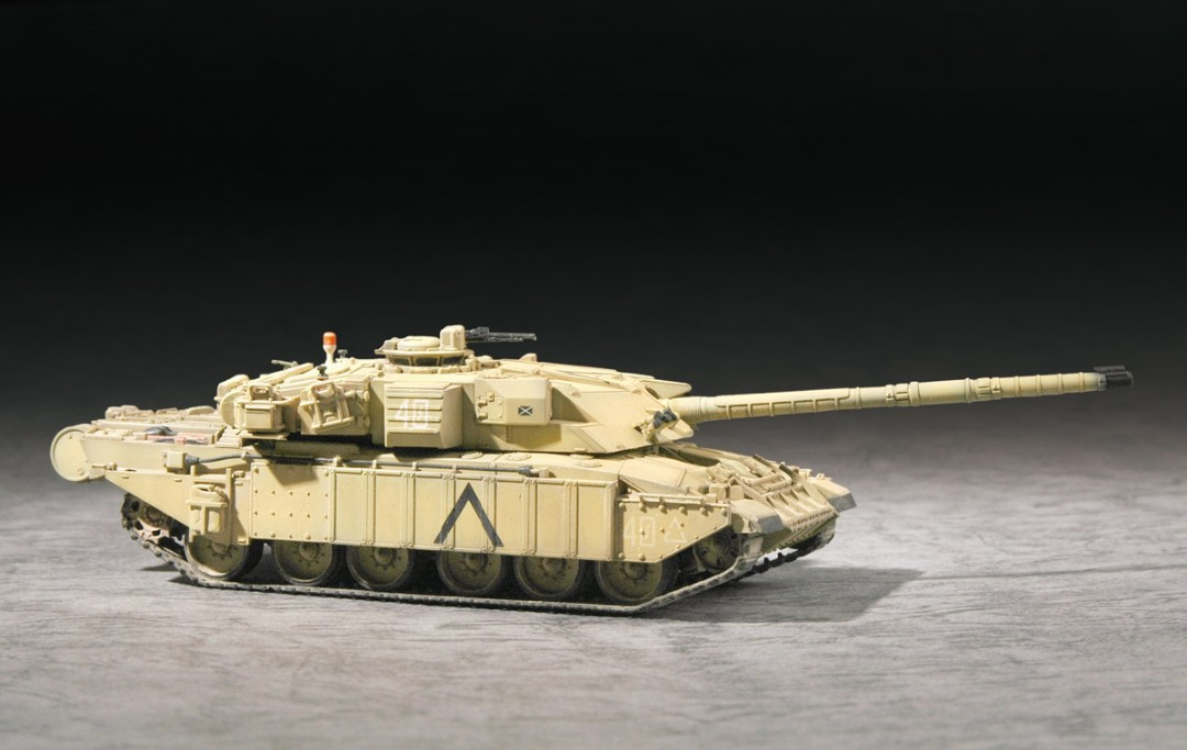 Trumpeter 1/72 British Challenger 1MBT(Desert Version)