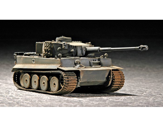 "Trumpeter 1/72 ""Tiger"" 1 tank (Early)"
