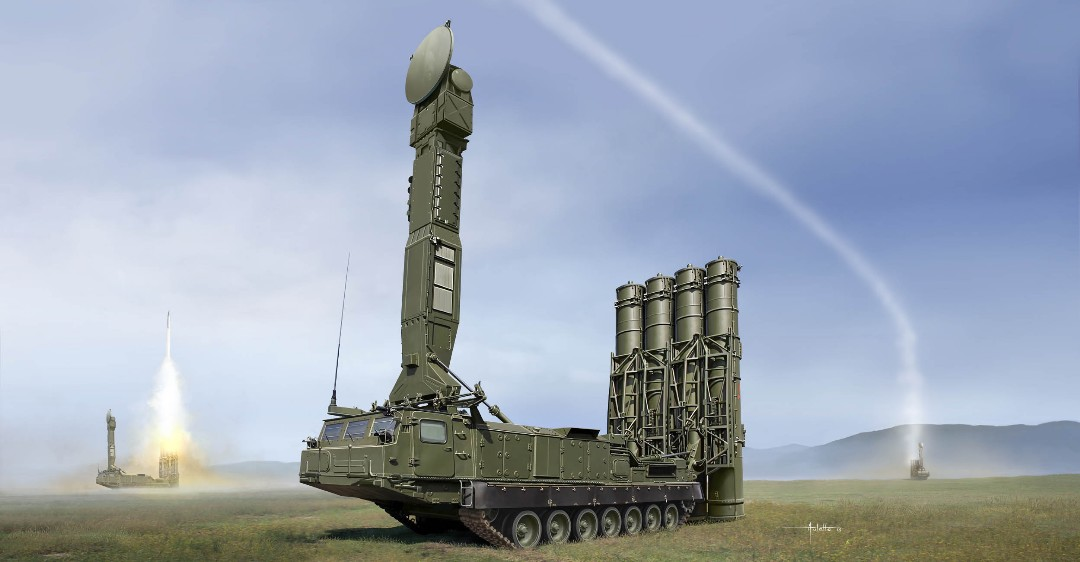 Trumpeter 1/35 Russian S-300V 9A83 SAM