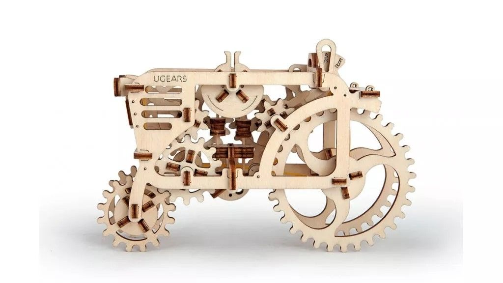 UGears Tractor - 97 pieces (Easy) - Click Image to Close