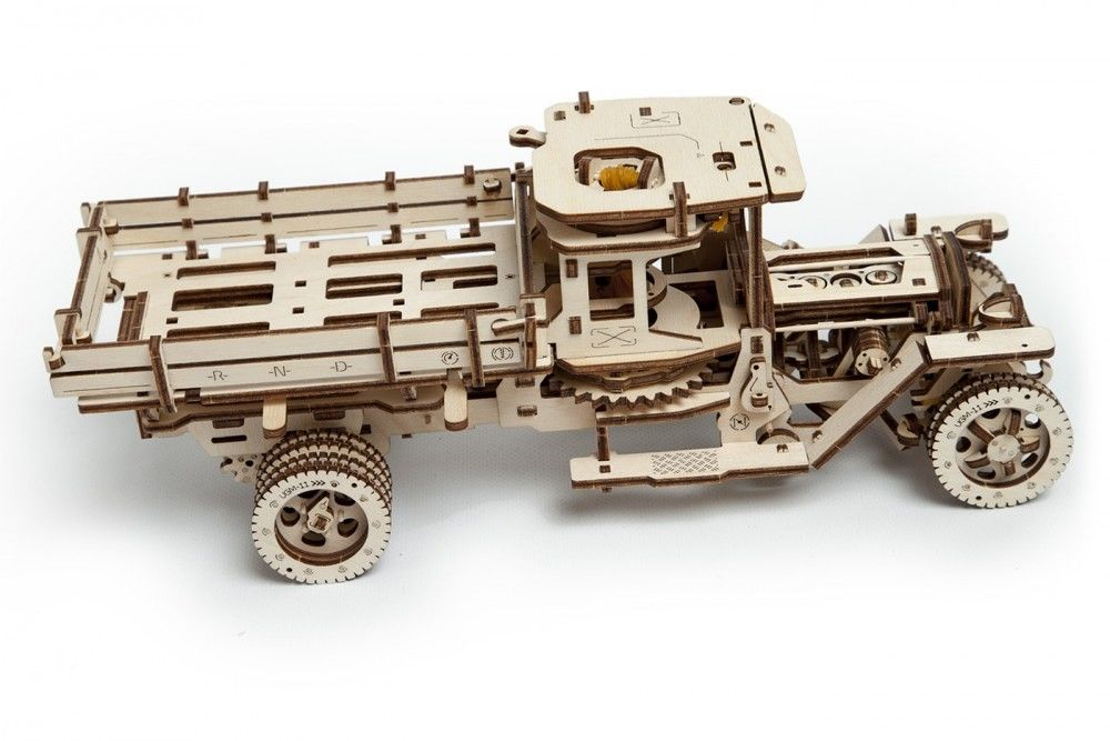 UGears UGM 11 Truck - 420 pieces (Advanced) - Click Image to Close