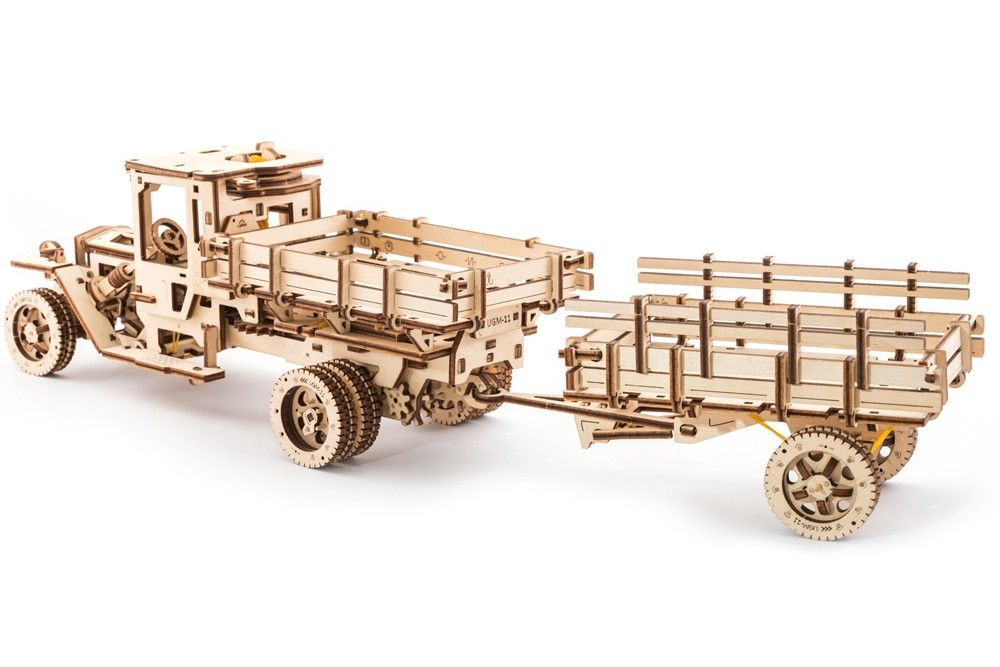 UGears Set of Additions for the UGM-11 Truck - 322 pieces (Adva - Click Image to Close