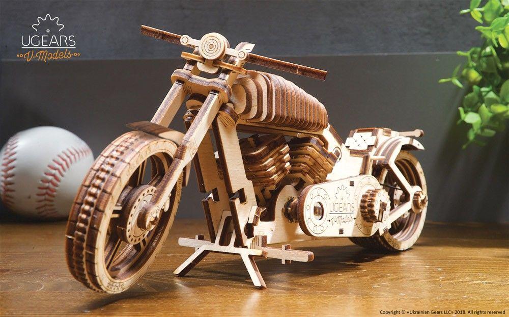 UGears Bike - 189 pieces (Medium) - Click Image to Close