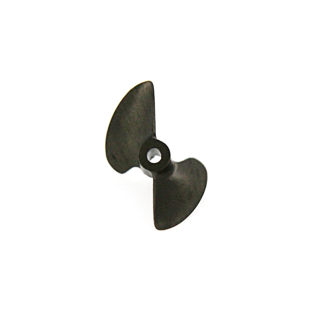 Atomik CNC Alloy Propeller for Barbwire 2 RC Boat Gun Metal