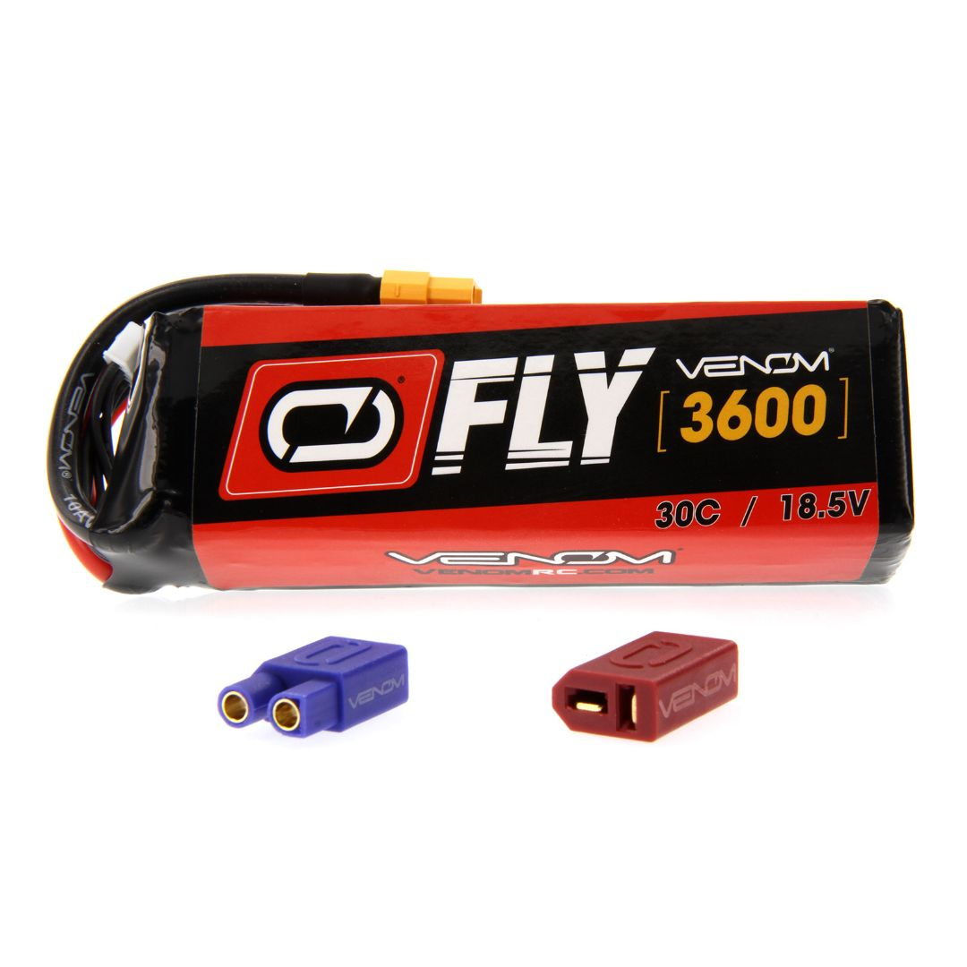 Venom Fly 30C 5S 3600mAh 18.5V LiPo Battery with UNI 2.0 Plug