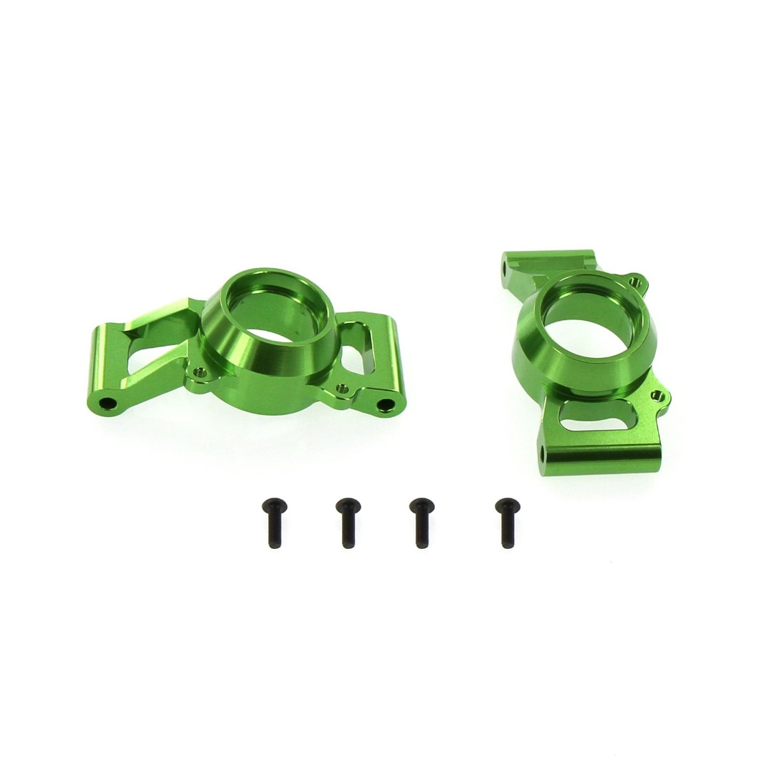 Venom X-Maxx Alloy Rear Hub Carrier, Green Replaces TRA7752