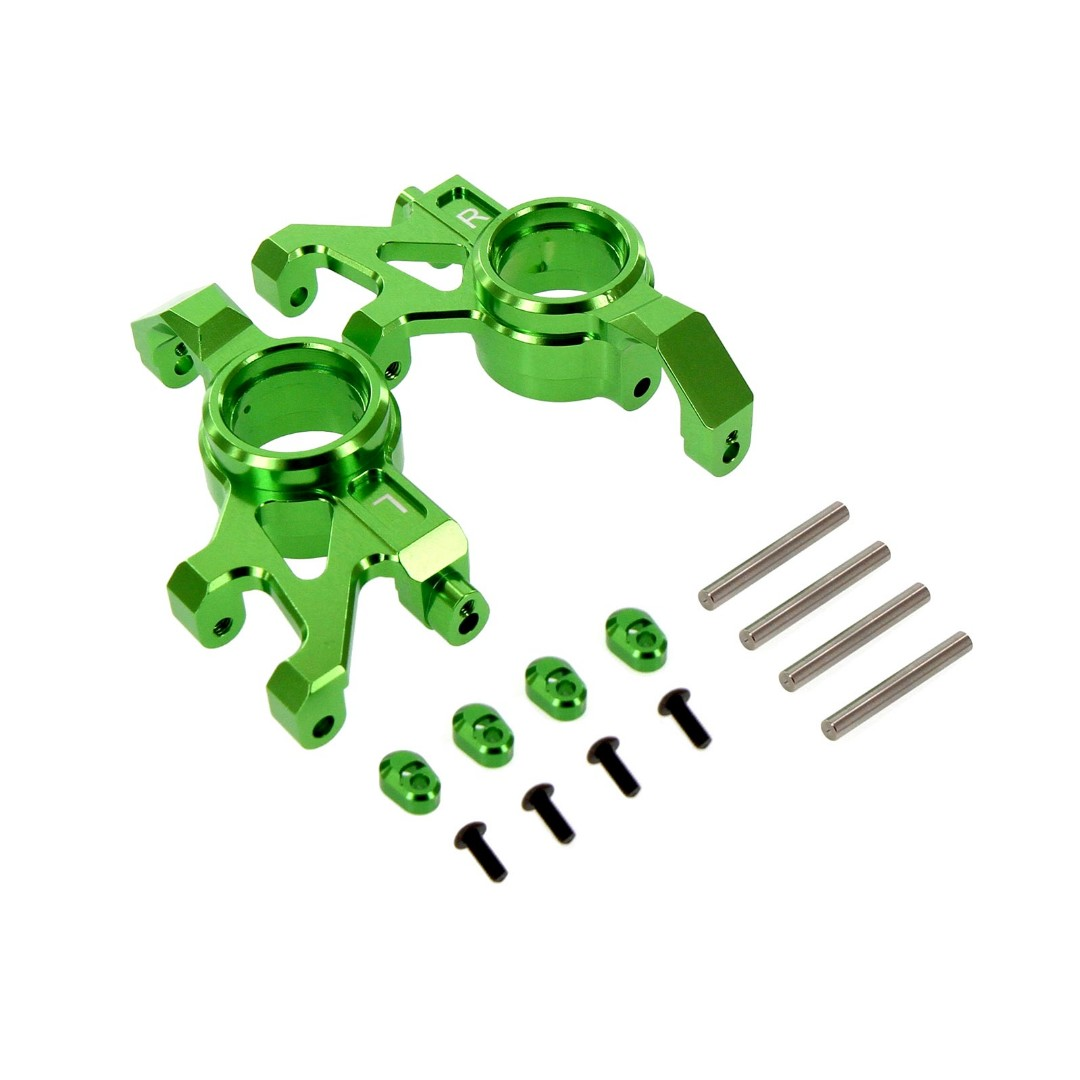 Venom Traxxas X-Maxx Alloy Steering Block Green Replaces TRA7737